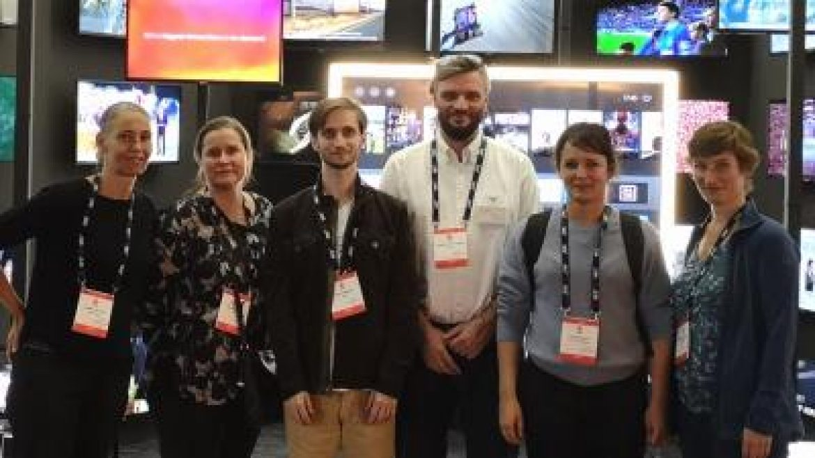 AVTE at IBC in Amsterdam