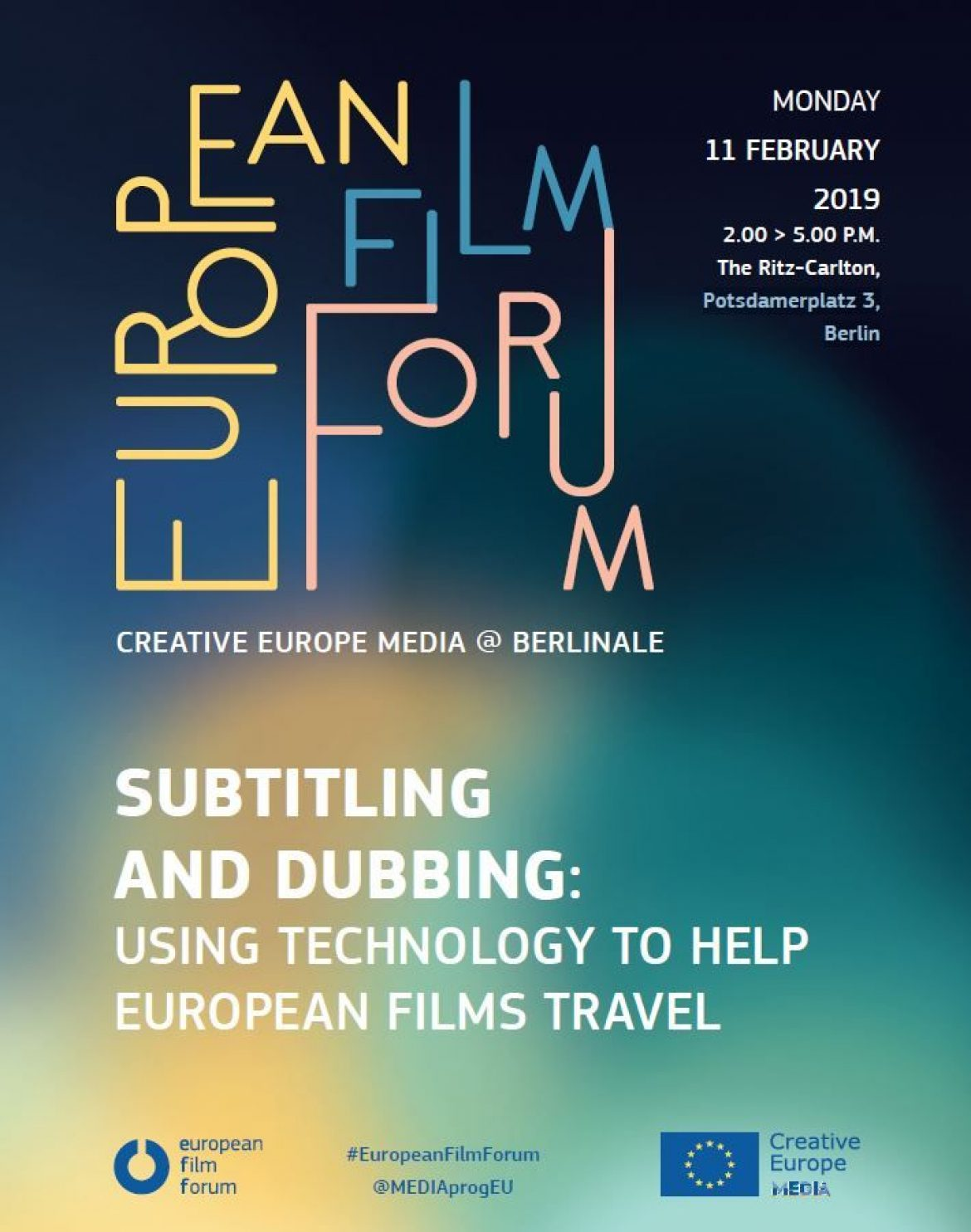 Berlinale: AVTE makes itself heard at the European Film Forum
